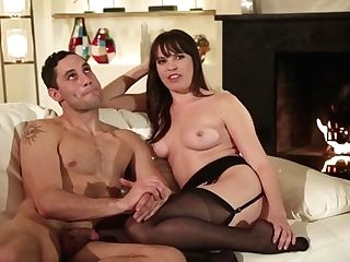 Dark-haired Elexis Monroe Gets The Fuck Hole Inbetween Her Gams Plunge Fucked By Marcus London