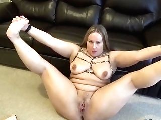 Beauty Playing With Her Self