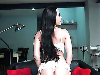 After Bragging Of Sexy Big Bubble Caboose Lusty Analine Loves Good Raunchy Ass-fuck