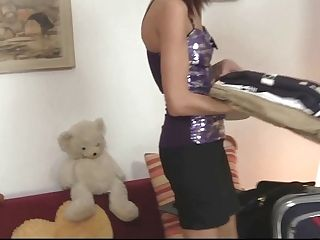 Man Penalizes His Brunnete Wifey Hard And Rough