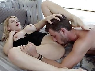 Enticing Cougar Alix Hops On Top Of Youthful Lucas Dick To Bounce Up And Down Adorably