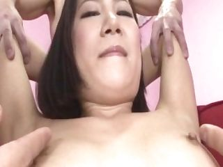 Arousing Hard-core Trio With Smallish Tits Kyoka Sono