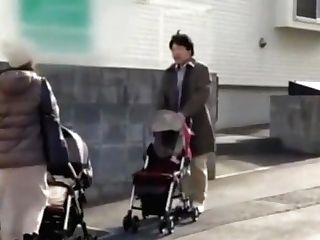 Japanese Mom Cheating While Breastfeeding