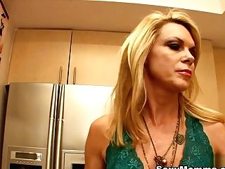 Alexa Styles & Delilah Blue In Alexa Cools Step Daughter-in-law Delila Off With Her Tongue - Sexymomma