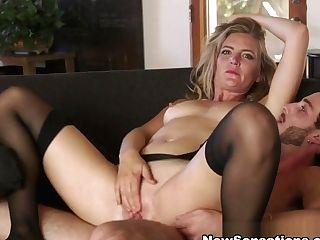 Lucas Frost  Mona Wales In Hotwife Mona Loves Her Boy Plaything - Newsensations
