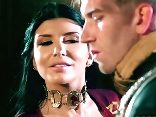Ayda Swapper, Danny D And Romi Rain In The Mingeslayer Of Westernos Wont Hold The Door