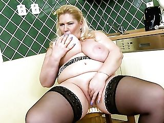 Fat Matures Whore Plays With Her Giant Mammories And Taunts Her Pearl A Bit Too