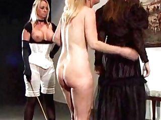 Lady Jayne Caned Hard - Lesdom Exotic Porno