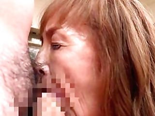 Matures Geysers Her Japanese Cunt With A Youthfull Dong