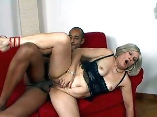 Chubby Cheating Matures Blonde Mummy With Natural Tits In Crimson
