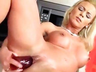 Hot Ashley Rail Her Intercourse Fucktoy In The Kitchen