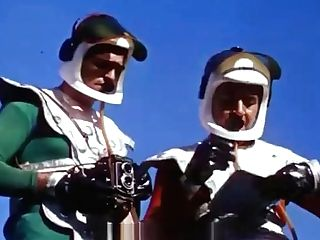 Sexy Braless Women Meet Unusual Guys (1960s Antique)