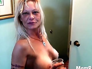 Ex Stripper Cougar Does 1st Pornography Behind The Scenes