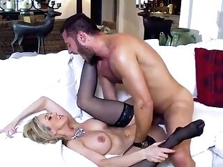 Cougar Pornography Flick Featuring Brandi Love And Danny Mountain