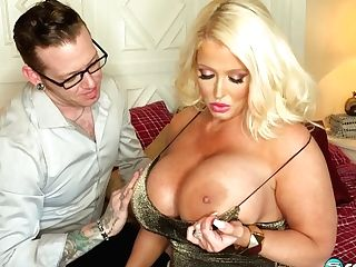 Alura Jenson's Very First Anal Invasion Scene In Two Years - 40somethingmag