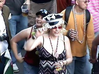 Wild Soiree Women Mardi Gras Scene Nine