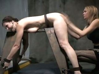 Rigid Mistress Is Spanking Nude And Belted Fuck-fest-sub