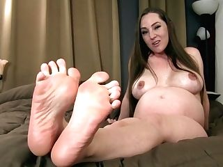 Stroke And Jizm So Hard For My Ideal Feet - Princess Kristi Puckered Feet