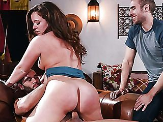 Sexy Nymphomaniac Maddy Oreilly Cheats On Her Bf By Railing Strong Boner Prick
