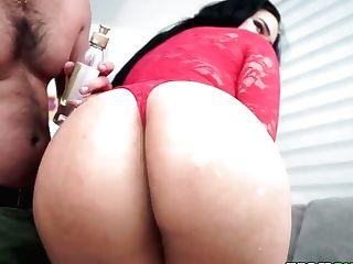 Supah Hot Latina Honey Hard Orgy Flick